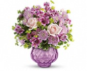 Teleflora's Lavender Chiffon Bouquet in Houston TX, Azar Florist
