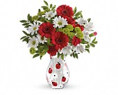 Teleflora's Lovely Ladybug Bouquet in Beaumont TX, Blooms by Claybar Floral