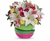 Teleflora's Paint It Pastel Bouquet in New Britain CT, Weber's Nursery & Florist, Inc.
