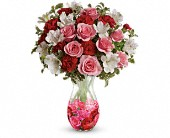 Teleflora's Rosy Posy Bouquet in Beaumont TX, Blooms by Claybar Floral