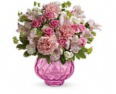 Teleflora's Simply Pink Bouquet in La Crete AB, TG's Flowers & Crafts