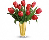 Tempt Me Tulips Bouquet by Teleflora in Rockford IL, Stems Floral & More