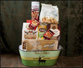Hansen's Exclusive Christmas Cookie Basket in Fairfield CT, Sullivan's Heritage Florist