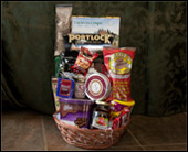Holiday Gourmet Basket in Fairfield CT, Sullivan's Heritage Florist