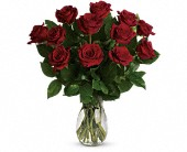 My True Love Bouquet with Long Stemmed Roses in Sherbrooke QC, Fleuriste Lijenthem