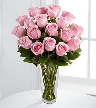 FTD-Long Stem Pink Roses in Woodbridge VA, Lake Ridge Florist