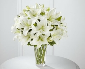 The Spirited Grace Lily Bouquet in Silver Spring MD, Colesville Floral Design
