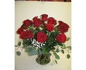 24 red roses in Blue Bell PA, Country Flower Shoppe
