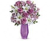 Teleflora's Lavender Beauty Bouquet in New Britain CT, Weber's Nursery & Florist, Inc.