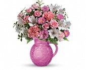 Teleflora's Pour On Pink Bouquet in Seattle WA, The Flower Lady