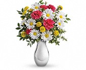 Just Tickled Bouquet by Teleflora in Mississauga ON, Mums Flowers