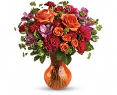 Teleflora's Fancy Free Bouquet in San Jose CA, Rosies & Posies Downtown