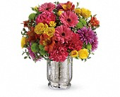 Teleflora's Pleased As Punch Bouquet in Batesville IN, Daffodilly's Flowers & Gifts