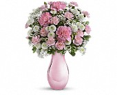 Teleflora's Radiant Reflections Bouquet in San Jose CA, Rosies & Posies Downtown