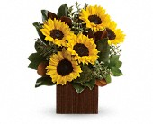 You're Golden Bouquet by Teleflora in Darlington WI, A Vintage Market Floral