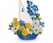 Teleflora's Captain Carefree Bouquet in Oklahoma City OK, Array of Flowers & Gifts
