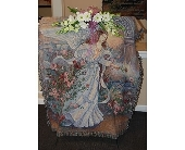 The Serene Sympathy Throw in Oakdale, Pennsylvania, Floral Magic