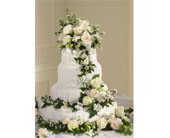 Wedding Cake Decorations in Brooklyn NY, Enchanted Florist