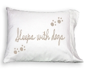 Pillowcase - Sleeps With Dogs in Colorado City TX, Colorado Floral & Gifts