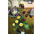 Classy Silk Arrangement in New Castle PA, Butz Flowers & Gifts