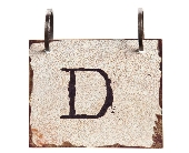 Words To Live By - Letter D in Colorado City TX, Colorado Floral & Gifts