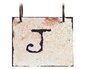 Words To Live By - Letter J in Colorado City TX, Colorado Floral & Gifts