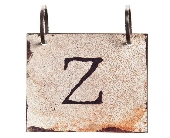 Words To Live By - Letter Z in Colorado City TX, Colorado Floral & Gifts