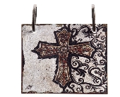 Words To Live By - Cross Tile in Colorado City TX, Colorado Floral & Gifts