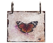 Words To Live By - Butterfly Tile in Colorado City TX, Colorado Floral & Gifts