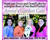 The Annie's Garden Gate Staff in Grove OK, Annie's Garden Gate
