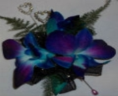 Blue by you Corsage in Pasadena MD, Maher's Florist