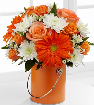 The Color Your Day With Laughter� Bouquet by FTD�  in Highlands Ranch CO, TD Florist Designs
