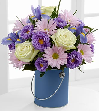 The Color Your Day Tranquility� Bouquet by FTD� -  in Highlands Ranch CO, TD Florist Designs