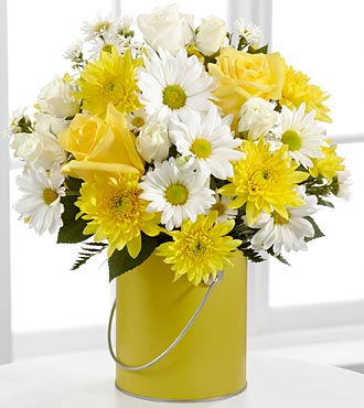 The Color Your Day With Sunshine� Bouquet by FTD�  in Highlands Ranch CO, TD Florist Designs
