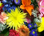 Bright and Colorful Fresh Cut Bouquet in Manalapan NJ, Rosie Posies