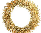 30in. Champagne Wreath in San Antonio TX, Best Wholesale Christmas Co