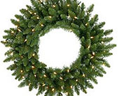 30in. Camdon Fir Wreath Cl. in San Antonio TX, Best Wholesale Christmas Co