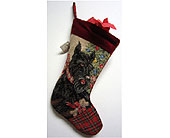 Scottie Dog Stocking in San Antonio TX, Best Wholesale Christmas Co