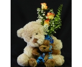 Double Bear Hugs in Albuquerque NM, Silver Springs Floral & Gift