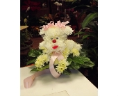 T & C POODLE OF FRESH FLOWERS in Manhasset NY, Town & Country Flowers