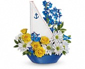 Ahoy It's A Boy Bouquet by Teleflora in Oakland CA, Lee's Discount Florist