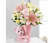 The Baby Girl Big Hug� Bouquet by FTD� in San Clemente CA, Beach City Florist