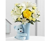 The Baby Boy Big Hug® Bouquet by FTD® in San Clemente CA, Beach City Florist