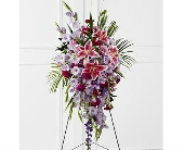 The FTD� Tender Touch� Standing Spray in San Clemente CA, Beach City Florist