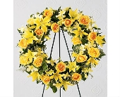 The FTD� Ring of Friendship� Wreath in San Clemente CA, Beach City Florist