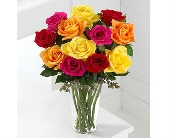 The FTD� Bright Spark Rose Bouquet� in San Clemente CA, Beach City Florist
