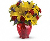 Teleflora's Let's Celebrate Bouquet in Oakland CA, Lee's Discount Florist