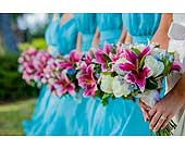 Wedding in Hilton Head Island, South Carolina, Flowers by Sue, Inc.
