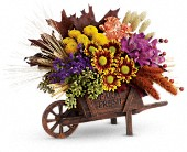 Teleflora's Antique Autumn Bouquet in Fort Worth TX, Greenwood Florist & Gifts