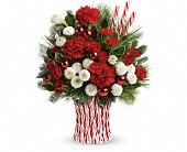 Teleflora's Peppermint Sticks Bouquet in Aston PA, Wise Originals Florists & Gifts